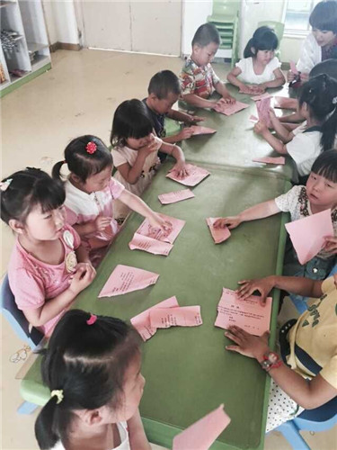 幼儿园小班折纸活动教案